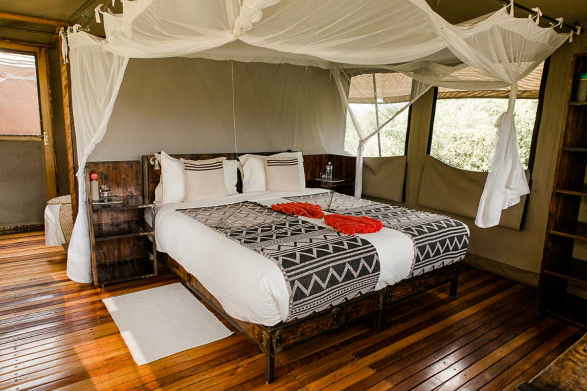 Sango Safari Camp Bedroom