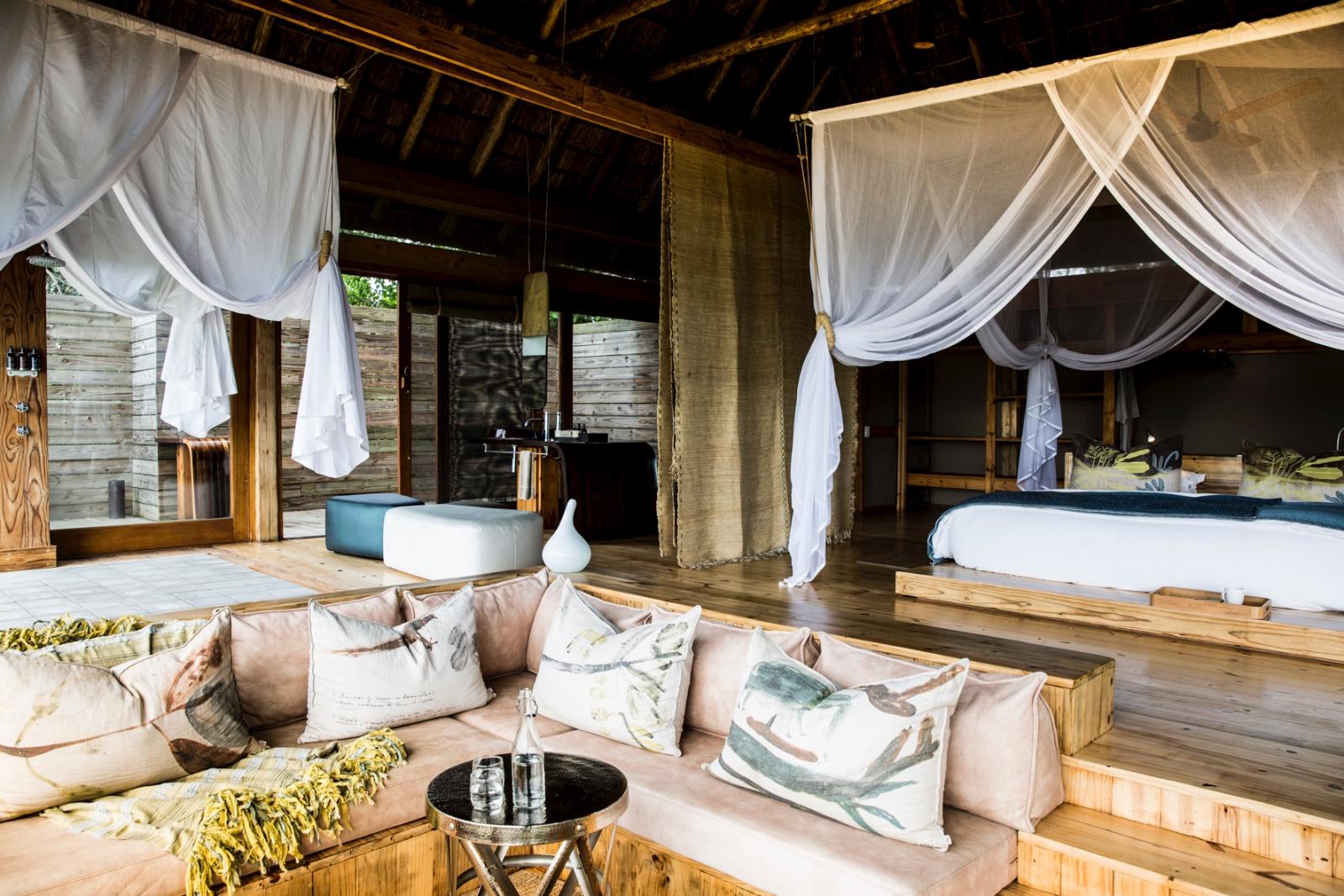 Vumbura Plains luxury contemporary tented suites