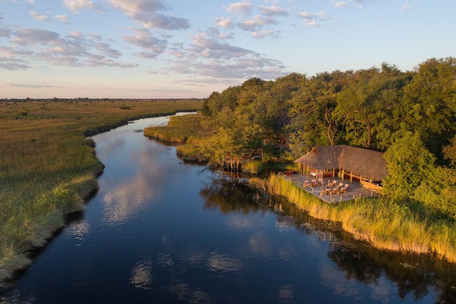 Camp Xakanaxa located on the Khwai River