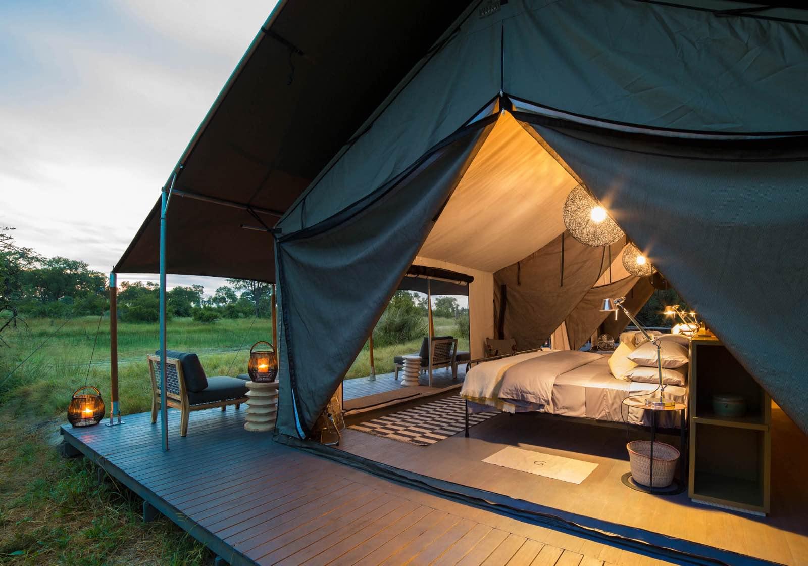 Gomoti Plains Camp classic tented luxury