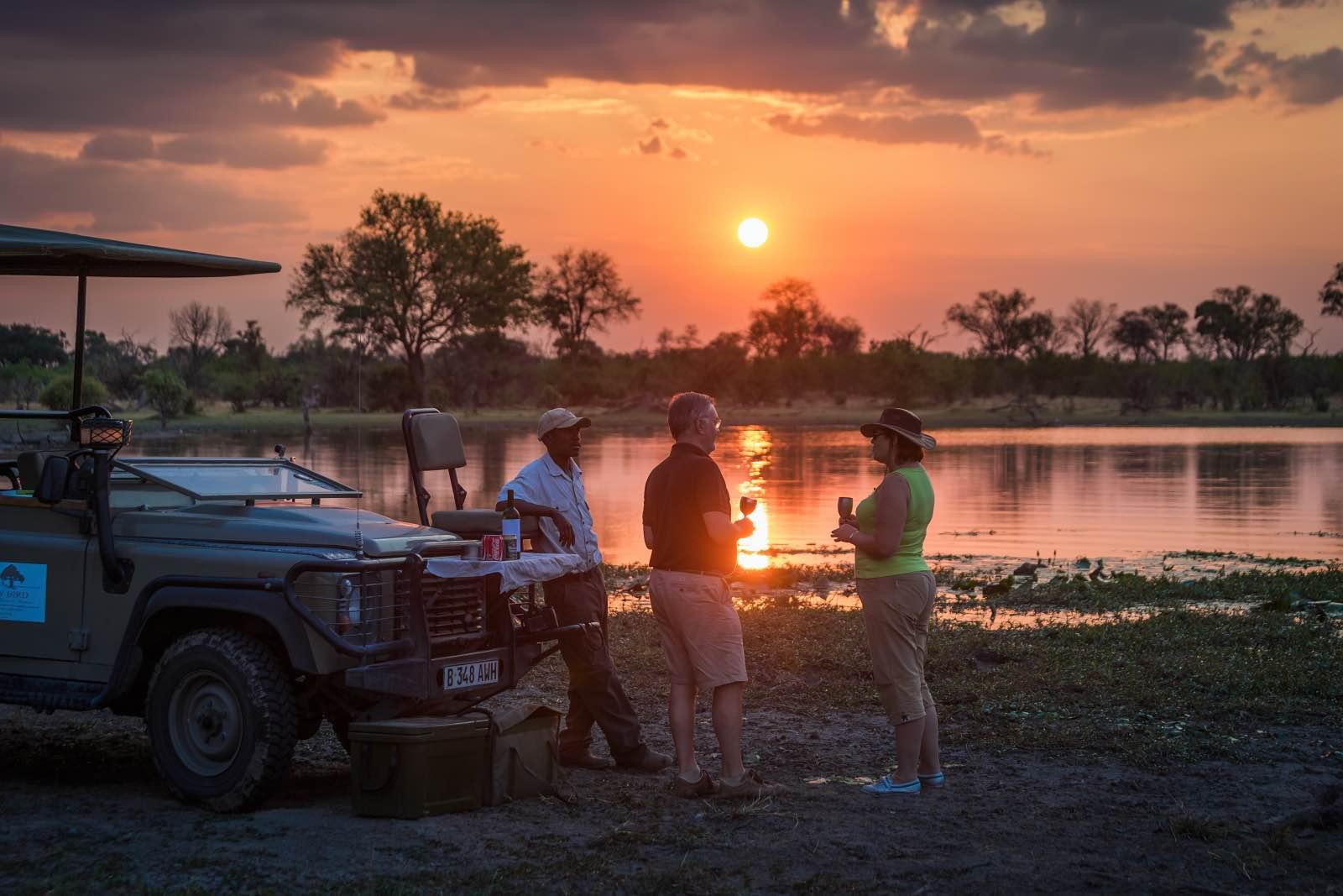 Machaba Camp sundowners