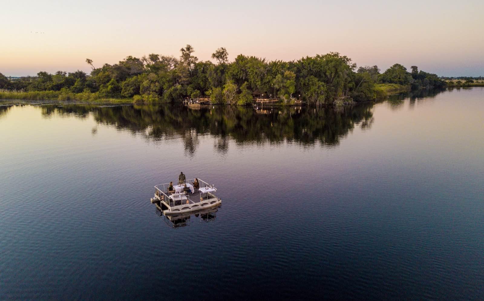 Xugana Island Lodge on supreme stretch of Xugana Lagoon