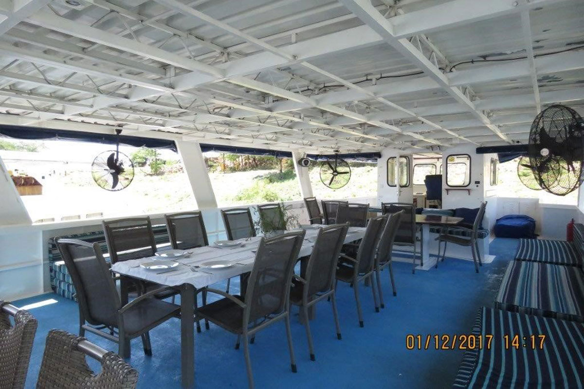 Big Daddy Deck Houseboat