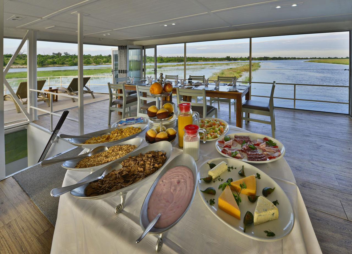 Chobe Princess Houseboat Food