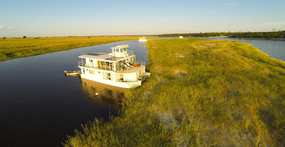 Chobe Princess Houseboat Views