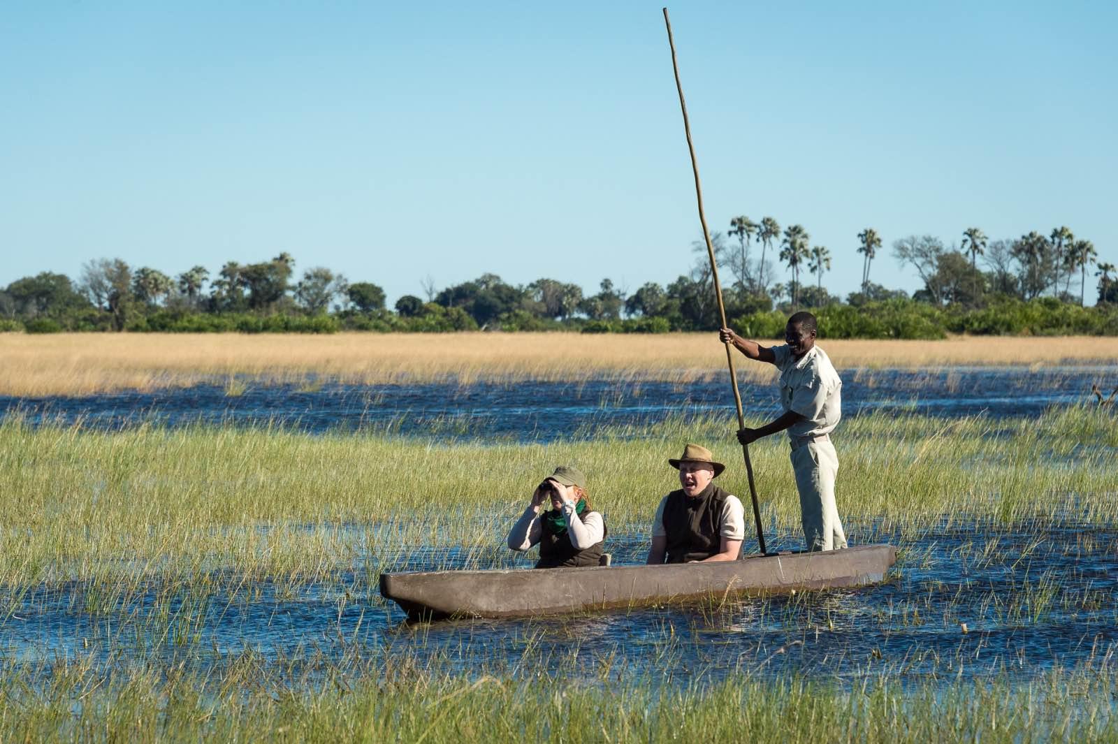 Classic Okavango Delta activity - mokoro cruise