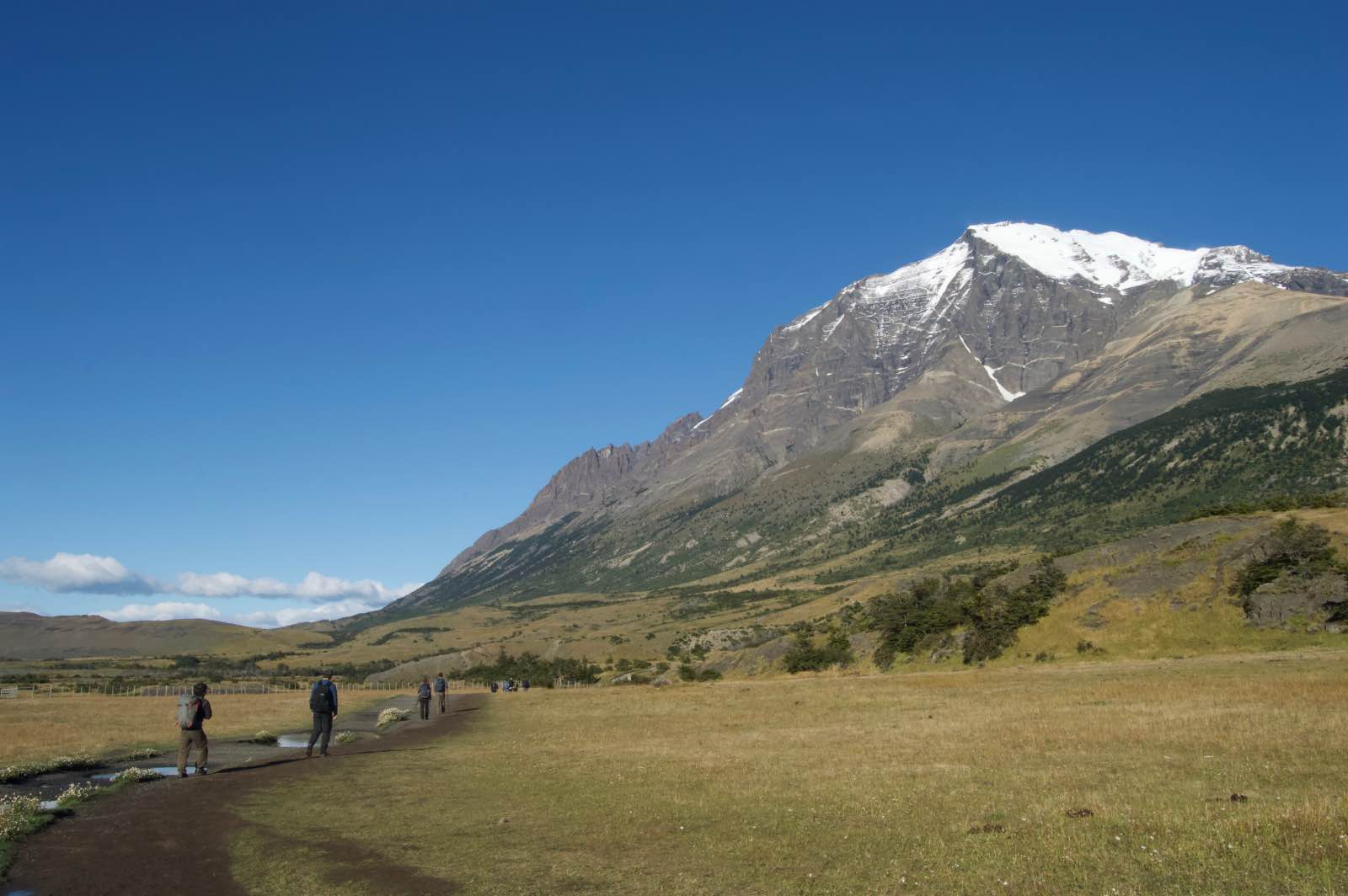 Hiking trails, Torres del Paine