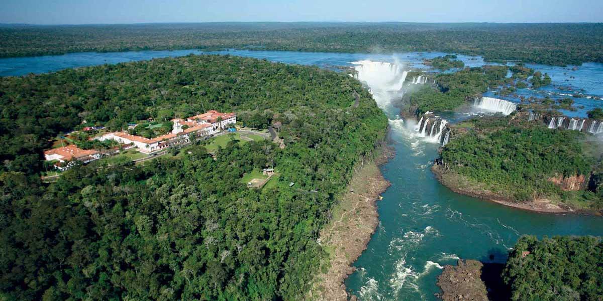 Iguazu Falls in South America