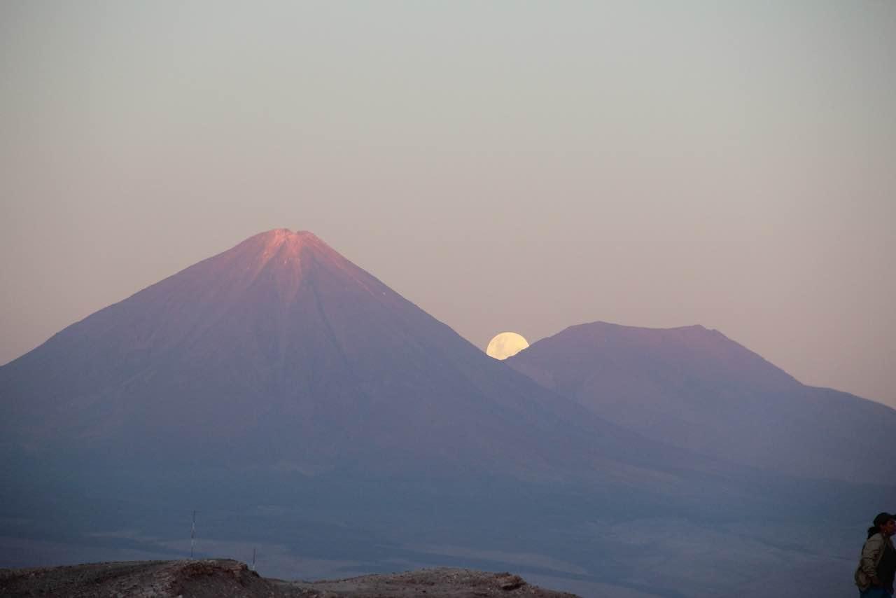 Volcanic lunar landscape, Atacama, Chile