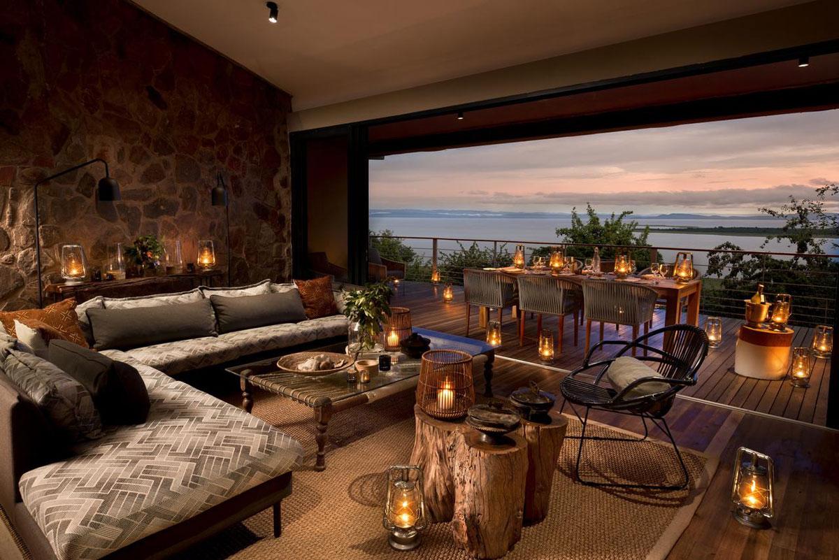 Bumi Hills Lake Kariba Lounge