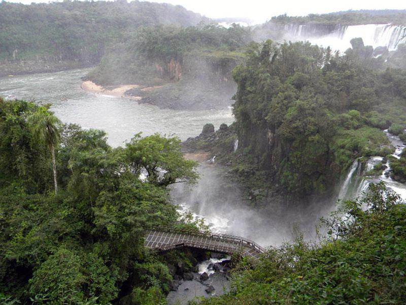 Igauzu Falls Brazil Argentina