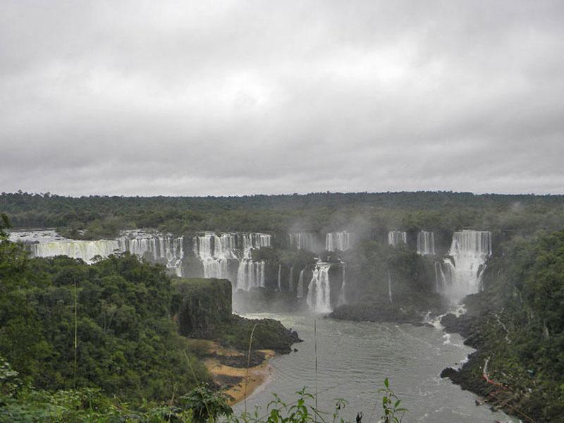 Igauzu Falls in South America