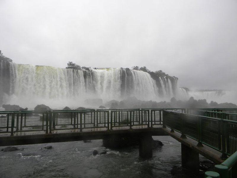 Iguassú Falls in South America, The Iguassú Falls in South America