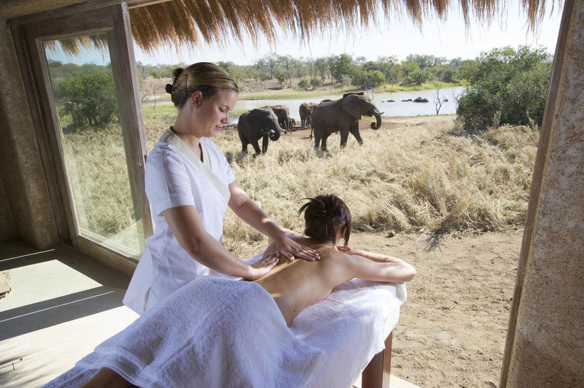 Kapama River Lodge Spa Treatment
