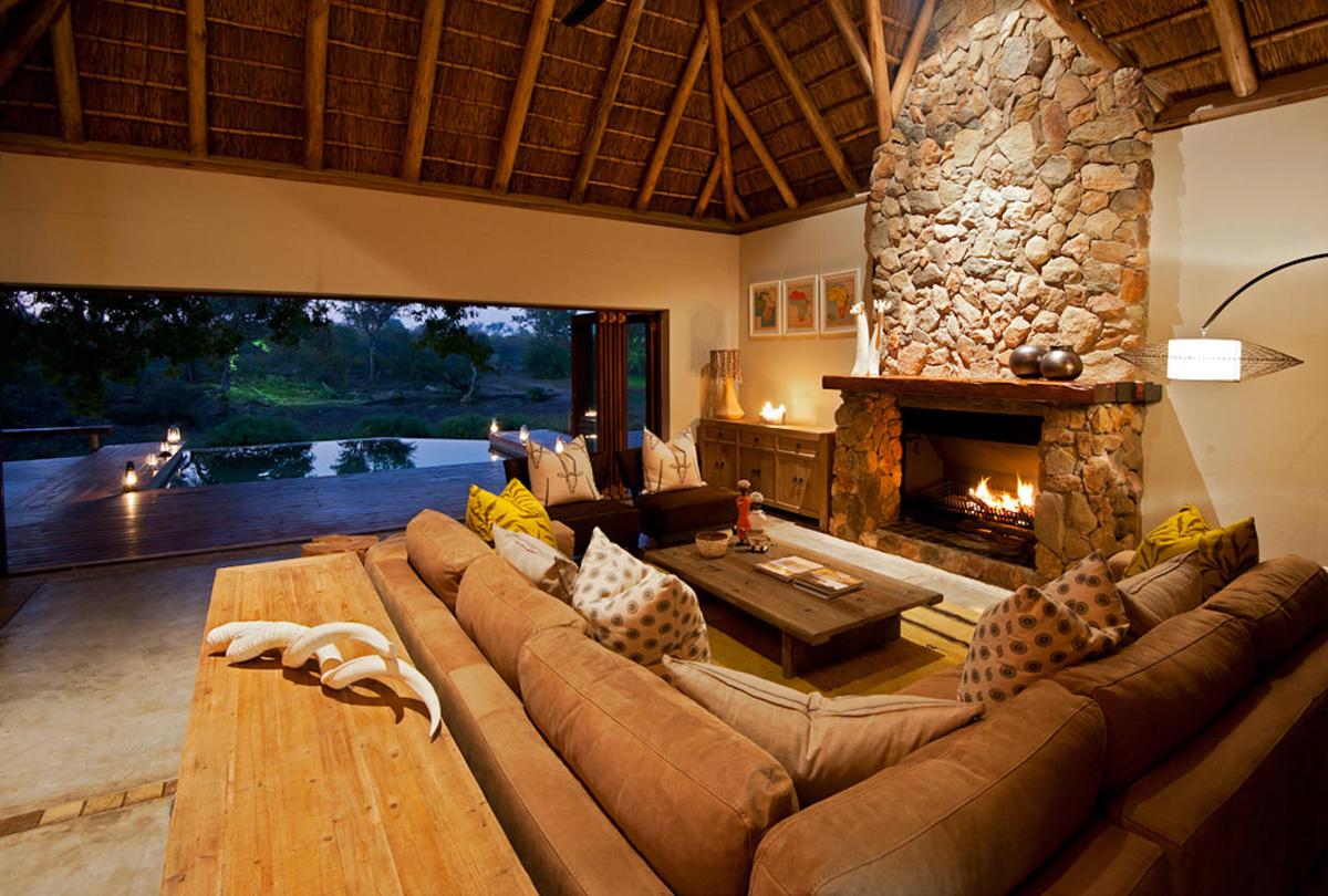 Klaserie Sands Lounge Area
