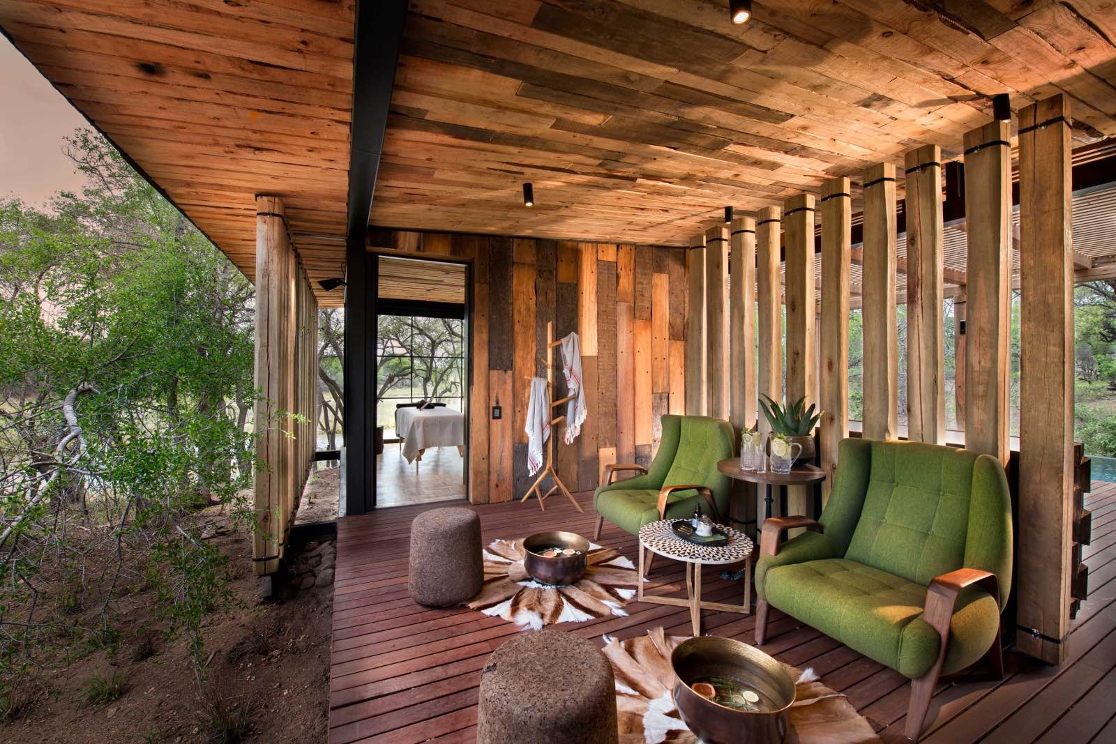 Massages in heaven at the Tengile spa