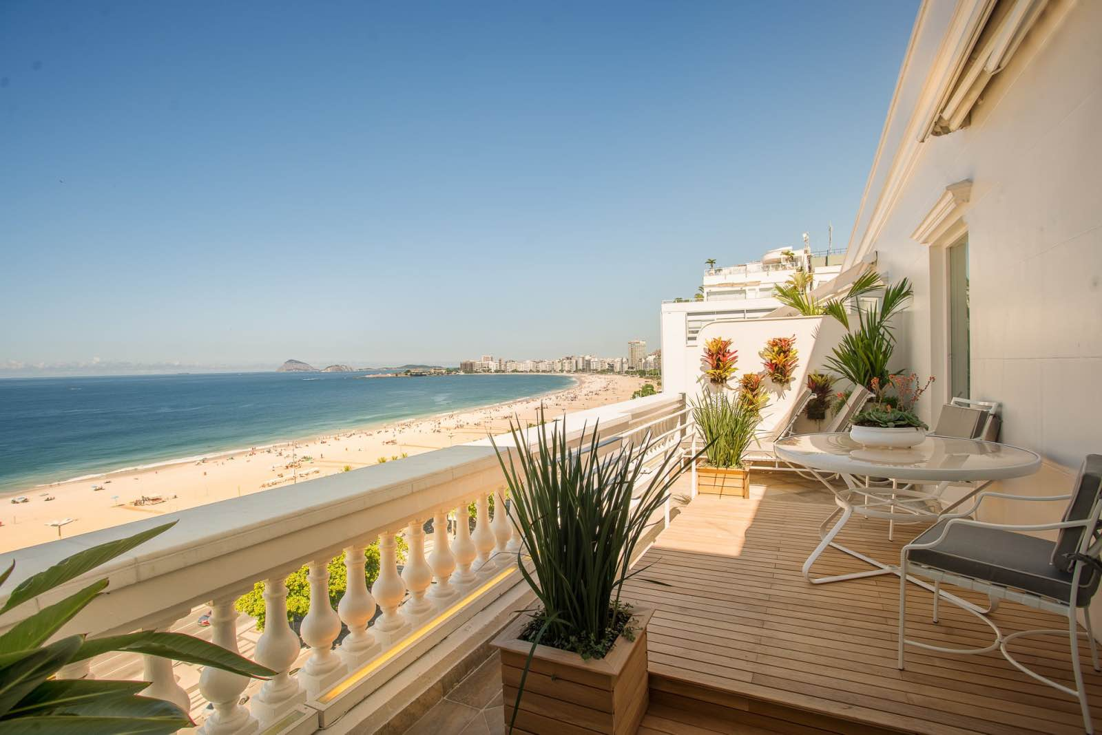 Belmond Copacabana Palace view of ocean