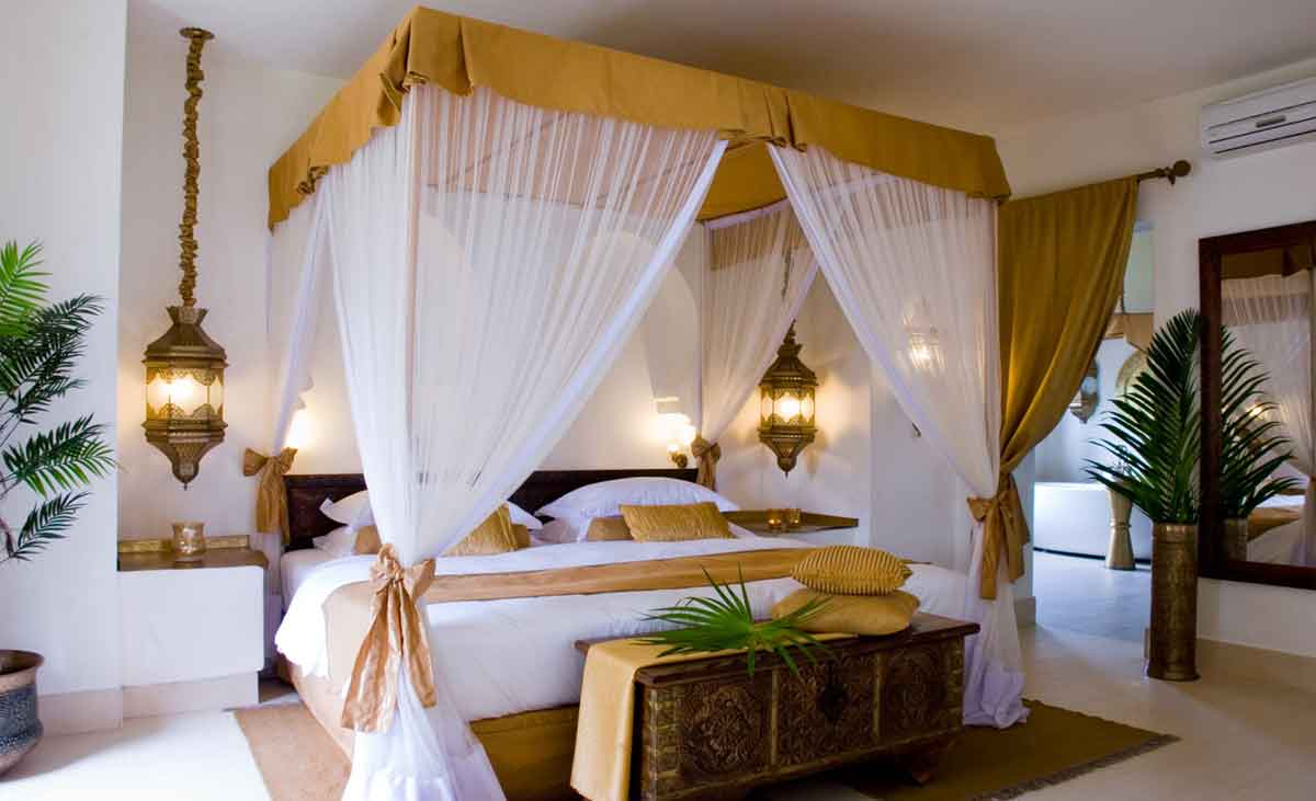Baraza Bedroom in Zanzibar
