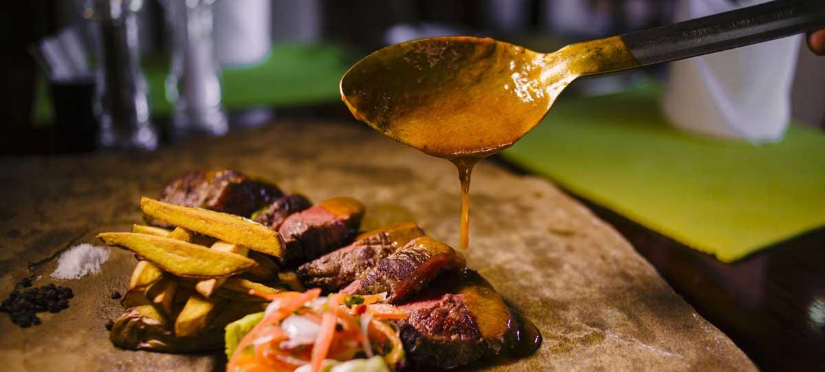 Food at Boma Hotels