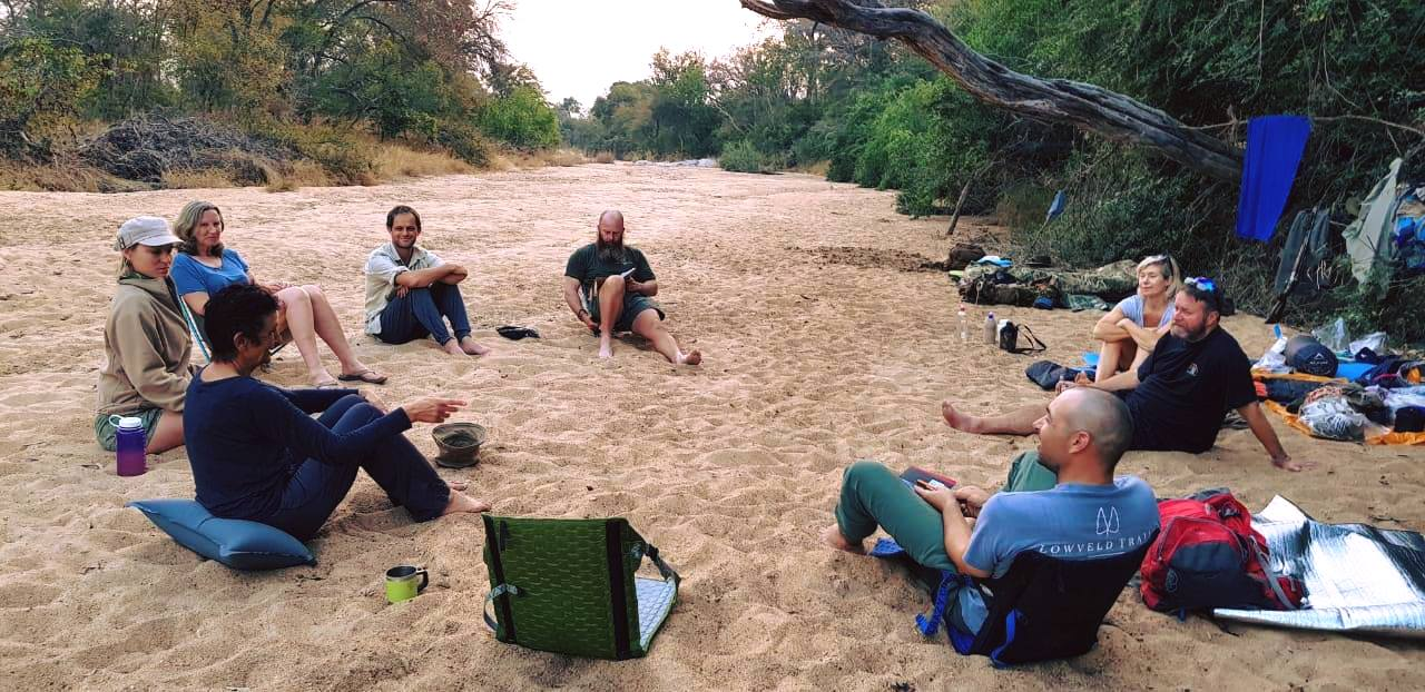 Connecting without technology... or a tent! Lowveld Trails Primitive Trails with Bruce Lawson