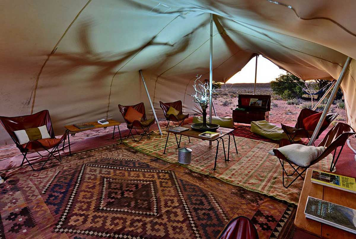 Explorer Camp in Sanbona Wildlife Reserve