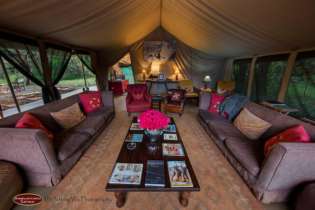 Nairobi Tented Camp Lounge