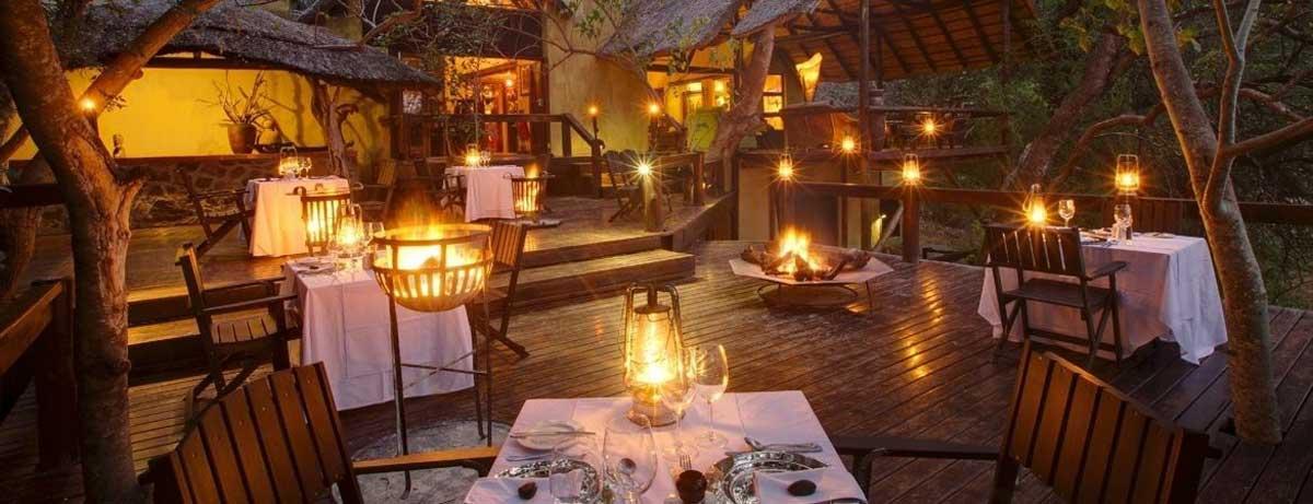 Pondoro Dining in Balule Nature Reserve