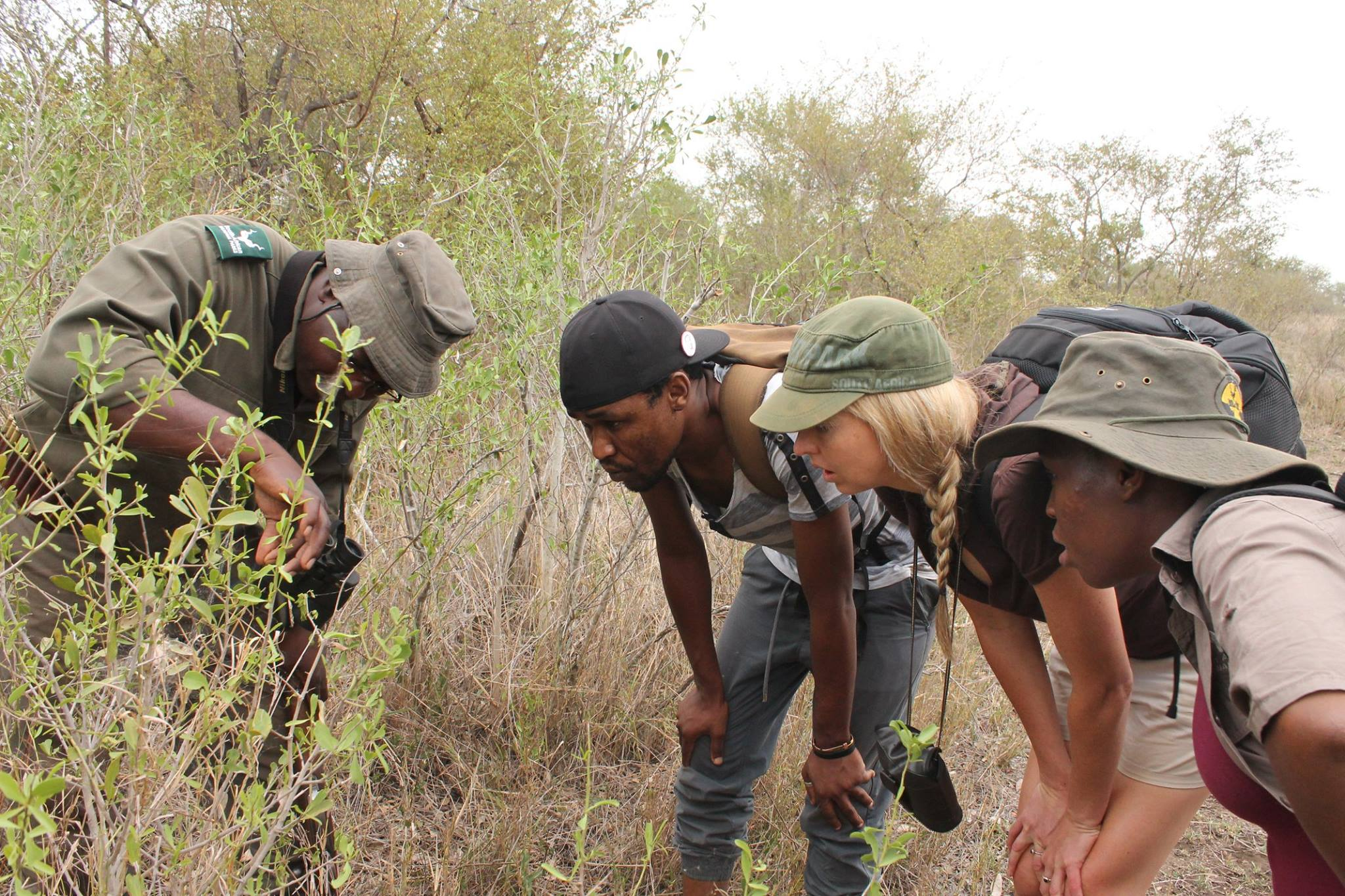Reading the bush on a Kruger Wilderness Trail