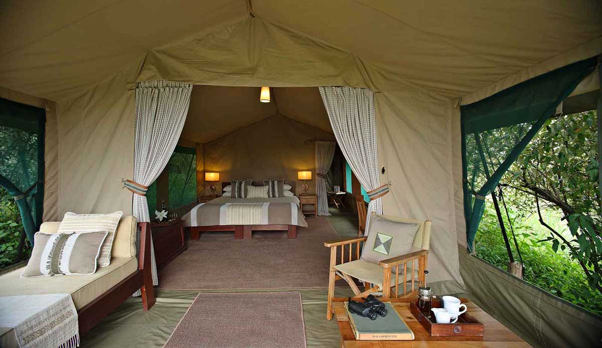 Rekoro Camp in East Africa
