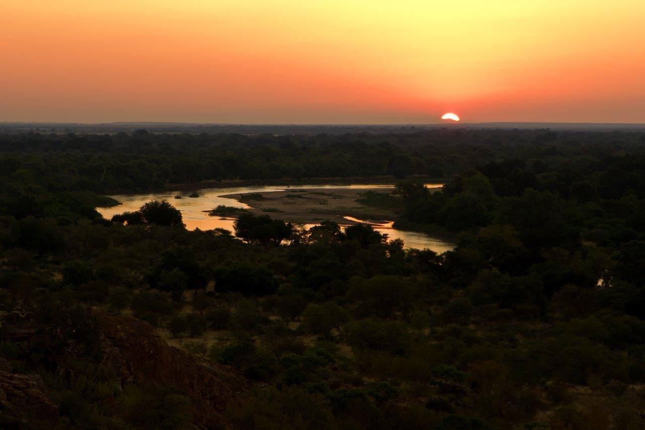 River views at sunset