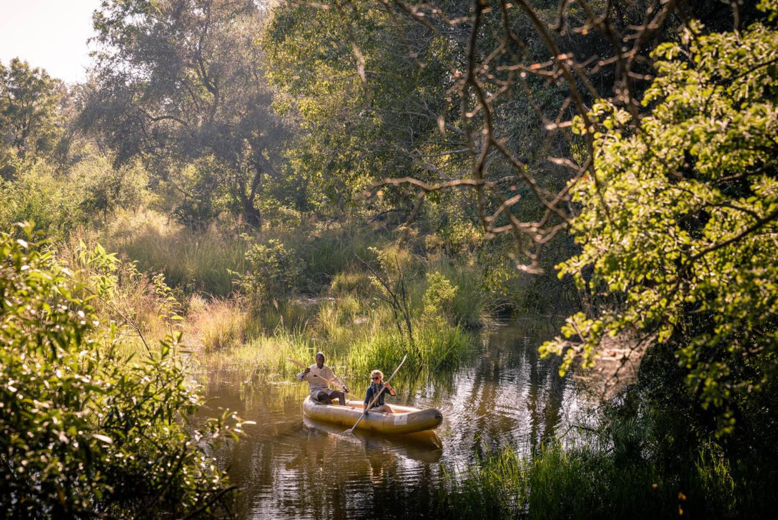 Canoeing the wilderness in exclusivity at Sussi & Chuma