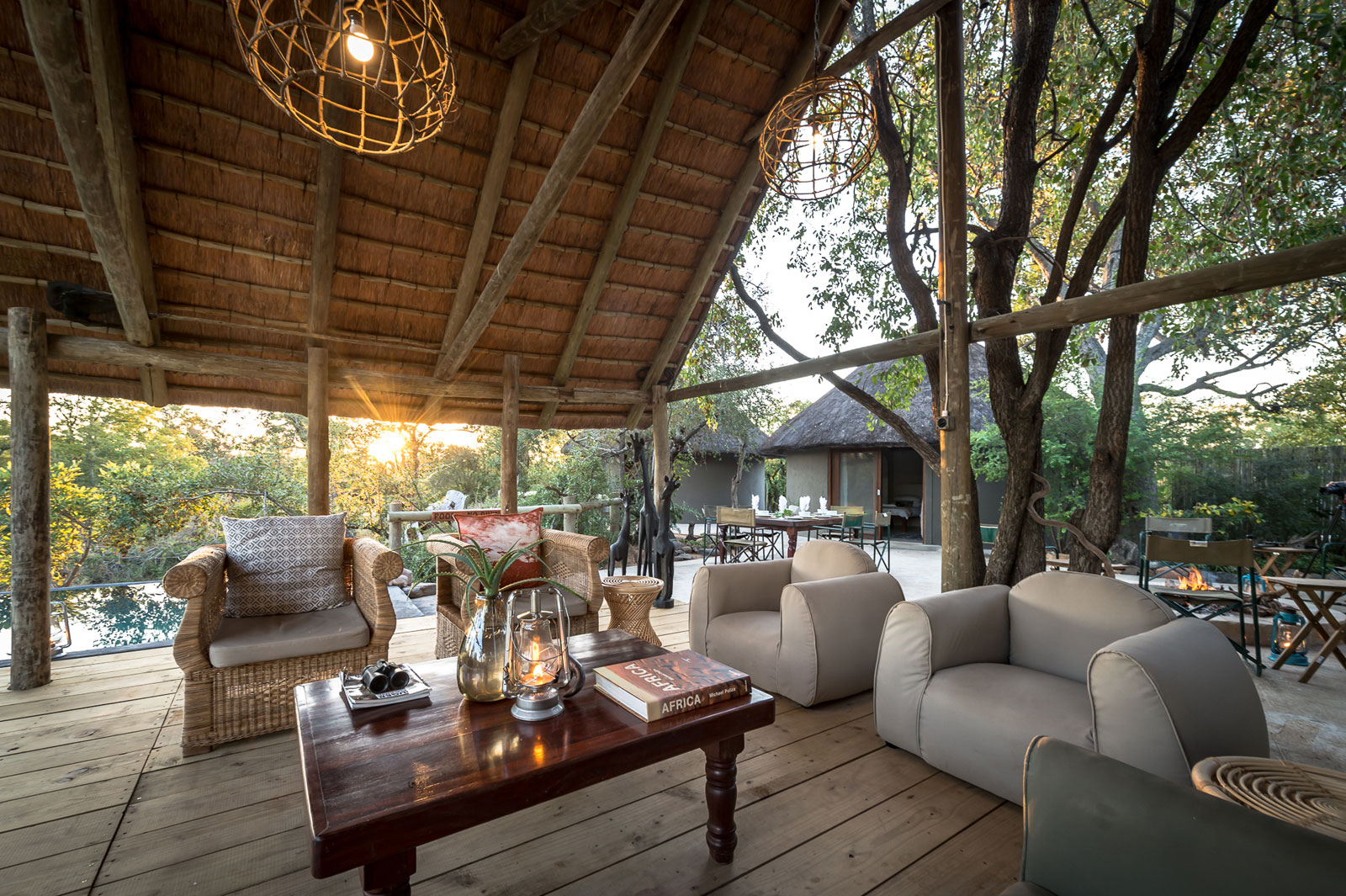 Viewing Deck of Nsala Safari Camp