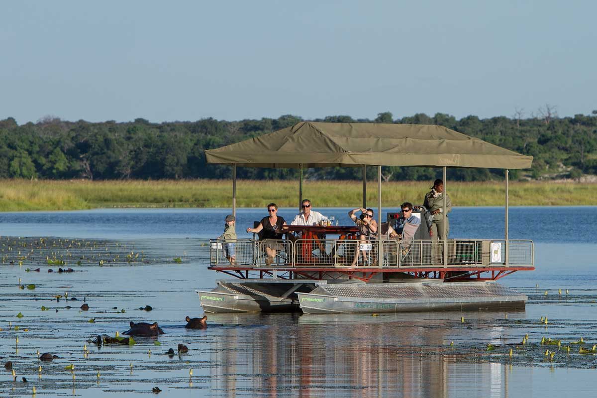 River Cruise at Chobe Game Lodge