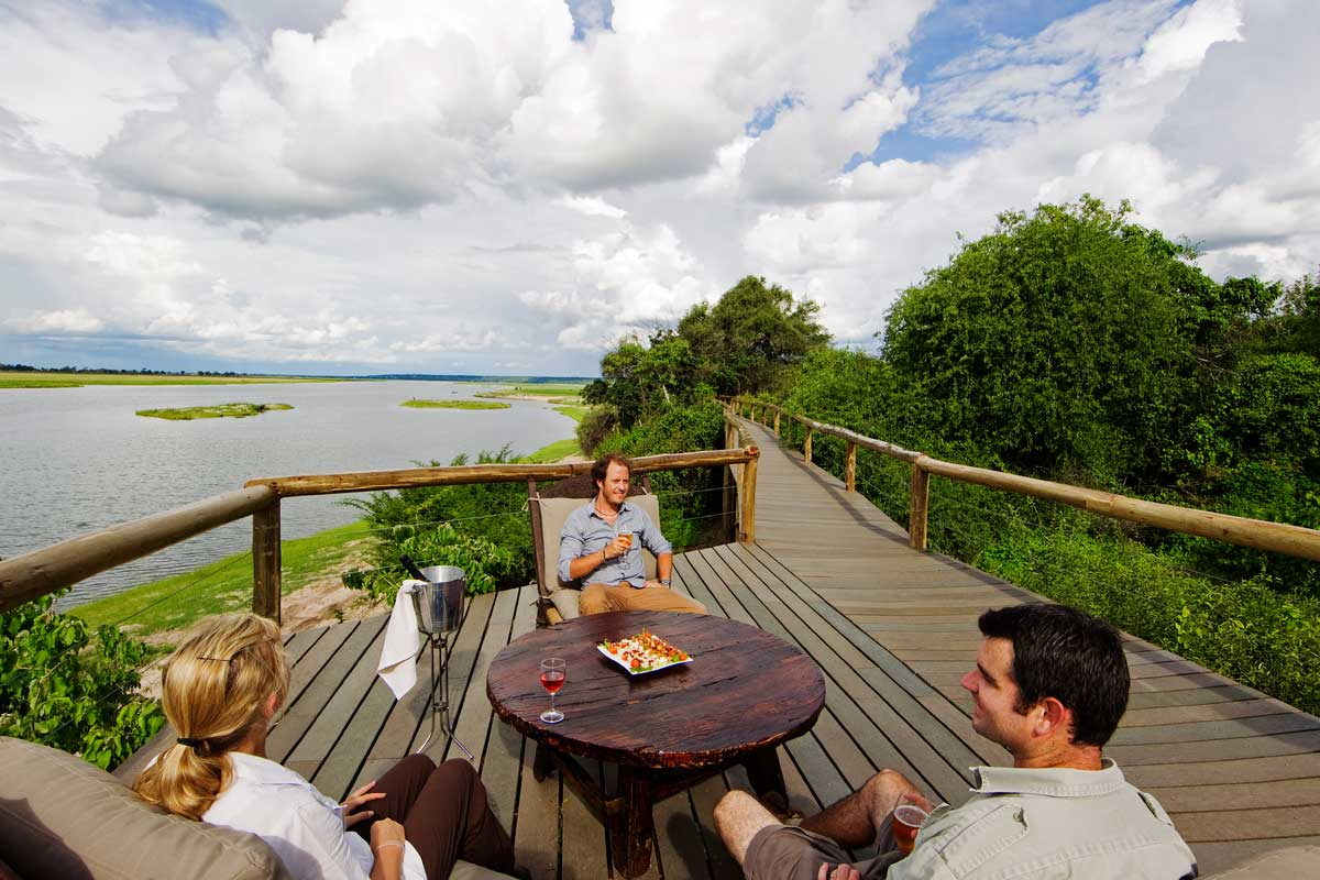 Chobe Game Lodge Viewing Deck