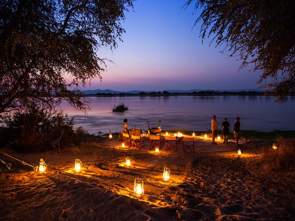 An evening on the banks of the Zambezi at Sapi Explorers_Fotor