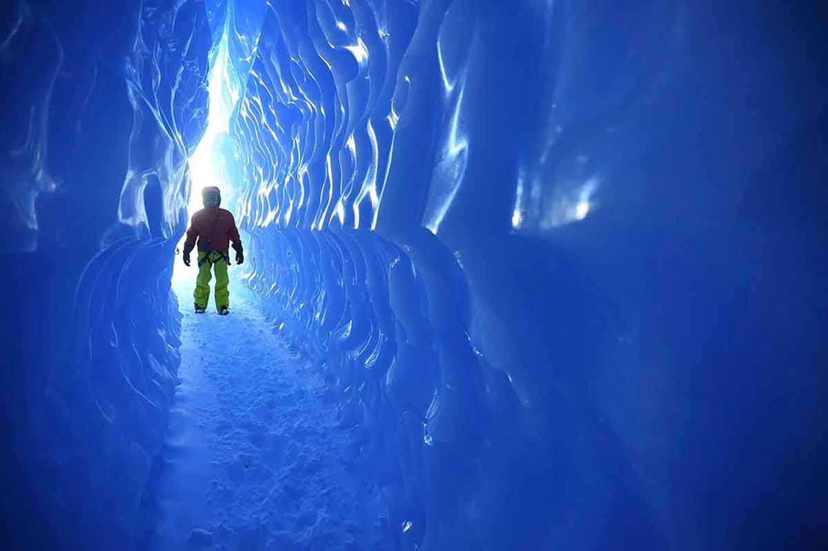 The Ice-tunnels of Antarctica