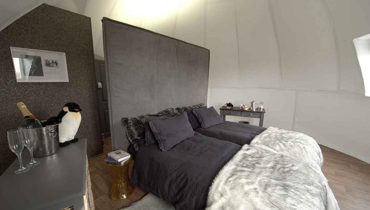 The Sleeping Pod in Antarctica