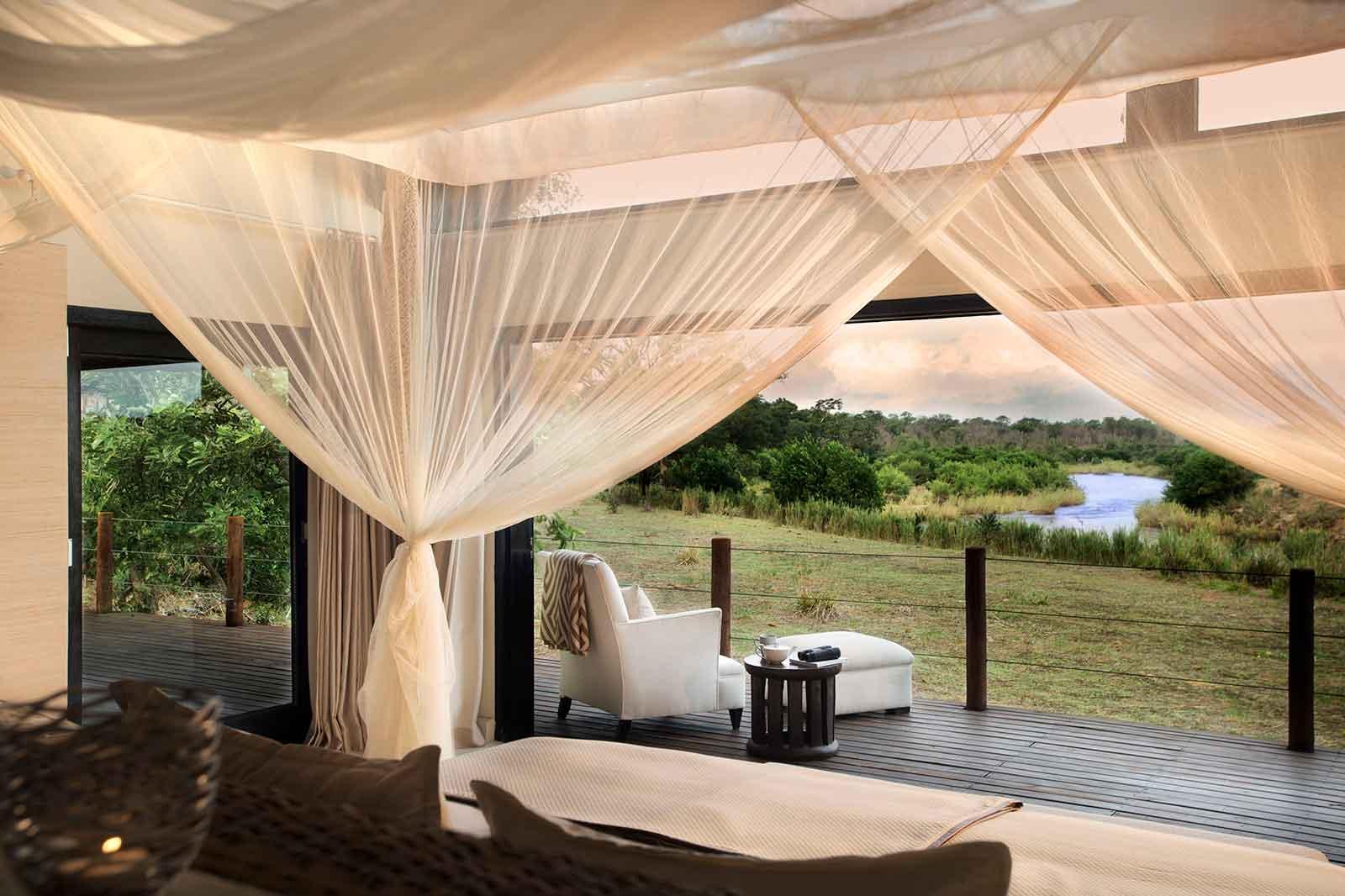 Lion Sands River Lodge Room Views
