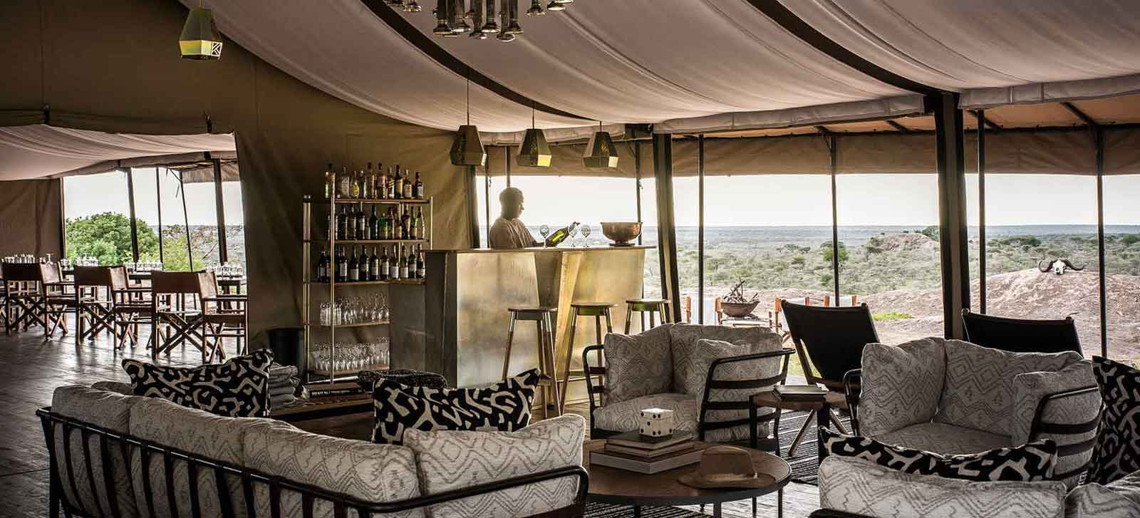 Kichakani Serengeti Camp Lounge