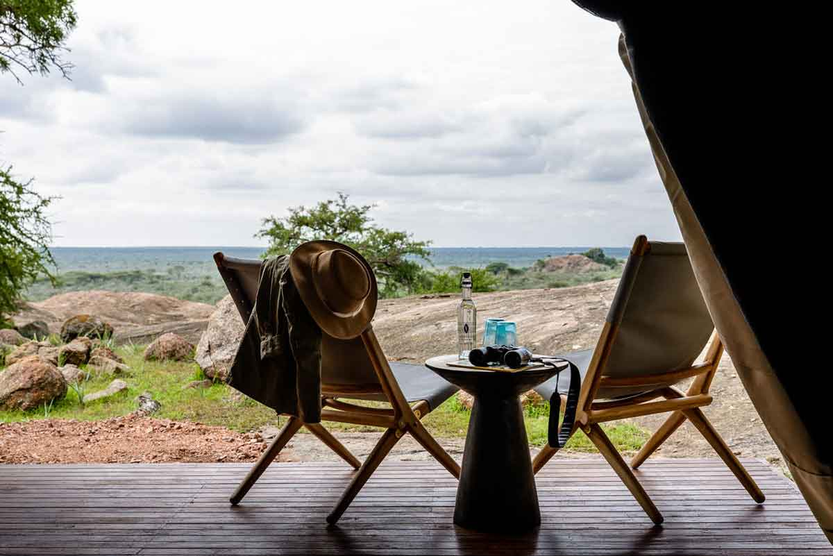 Kichakani Serengeti Camp Wilderness Views