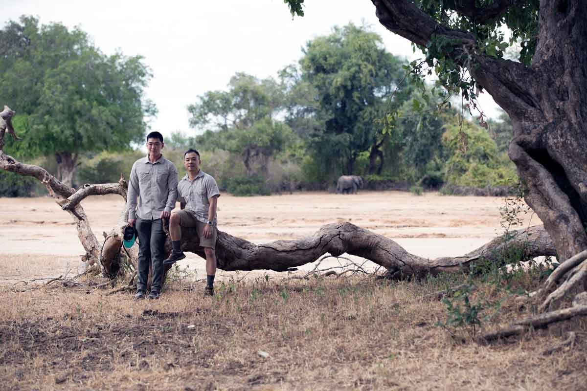 Mana Pools Couple