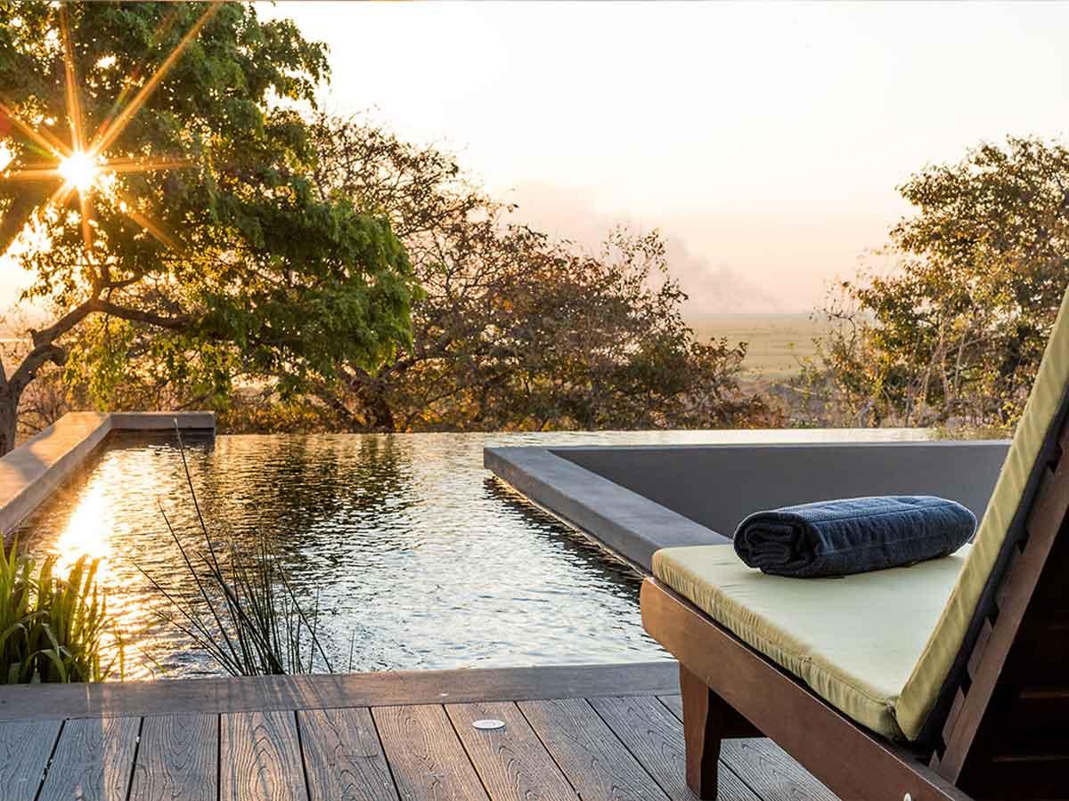 Pangolin Chobe Hotel Pool
