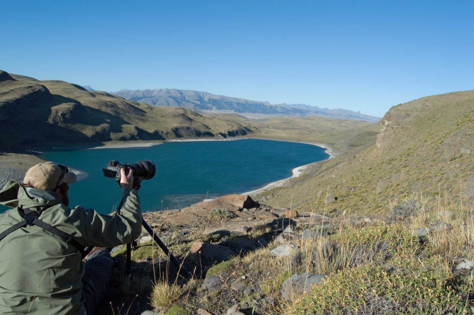 Rolling valleys and turquoise lakes define parts of Chilean Patagonia