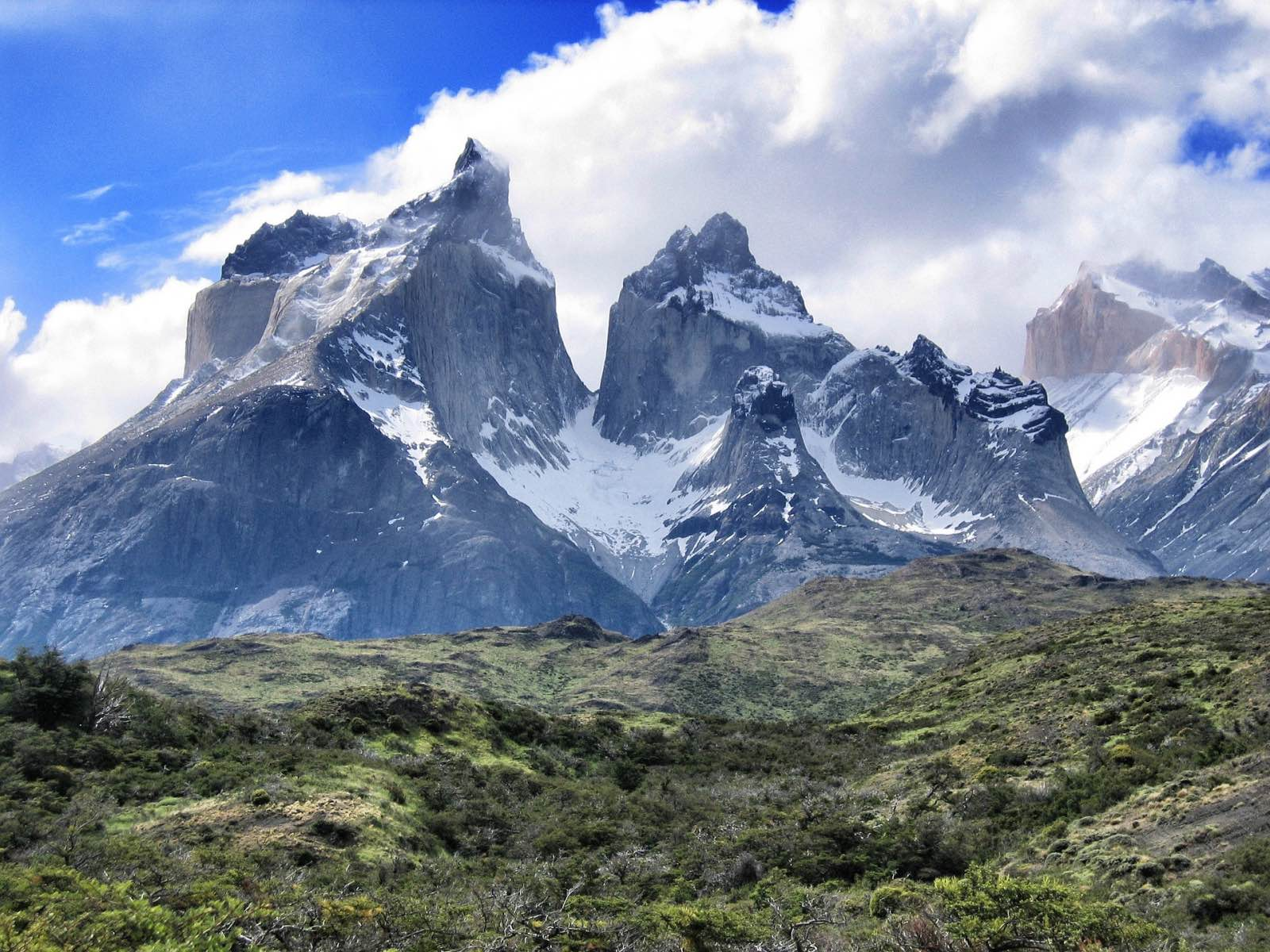 Torres del Paine mountain views - one of Patagonia's most popular hiking destinations
