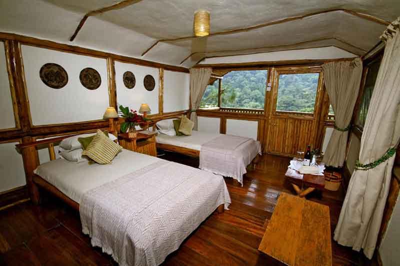 Buhoma Lodge Inside