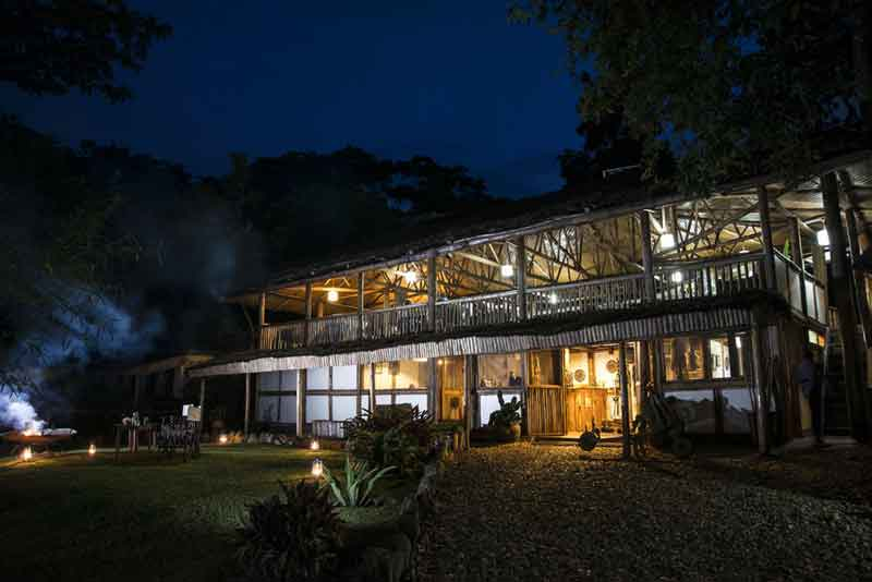 Buhoma Lodge Night