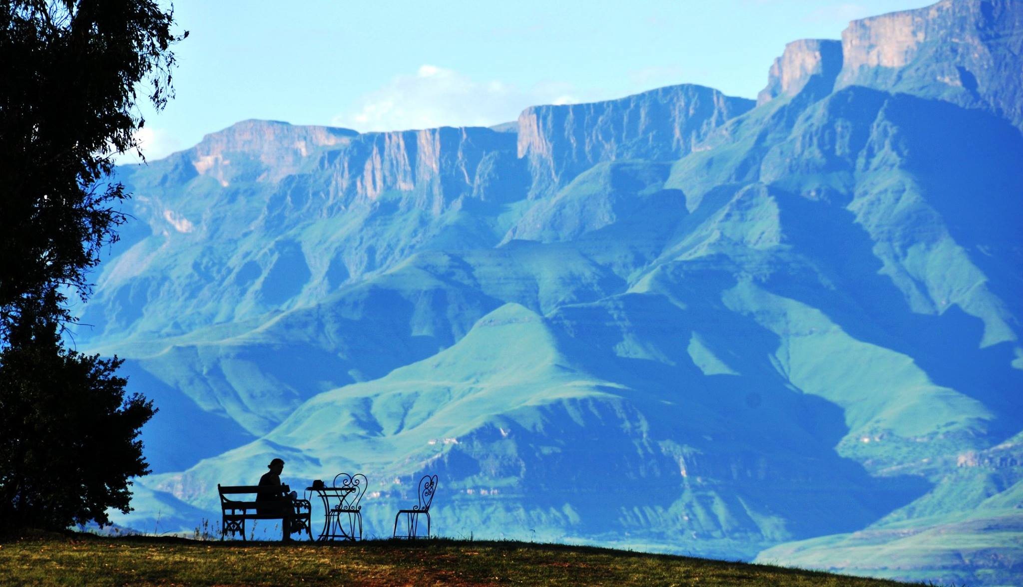 Extraordinary Drakensberg views from Berghouse grounds