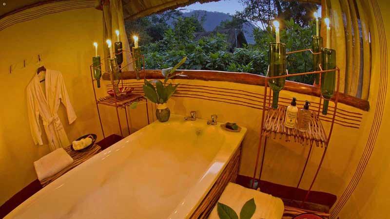 Gorilla Forest Camp Bathroom