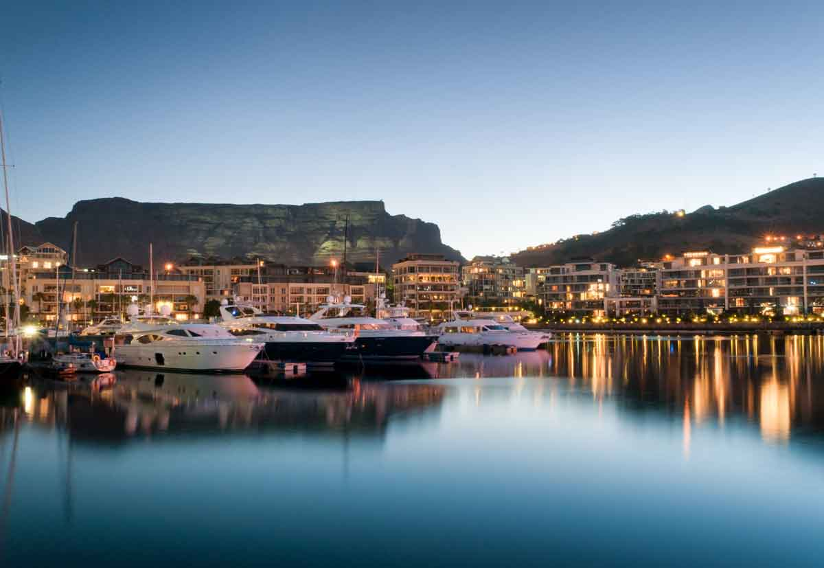 VA Waterfront in Cape Town