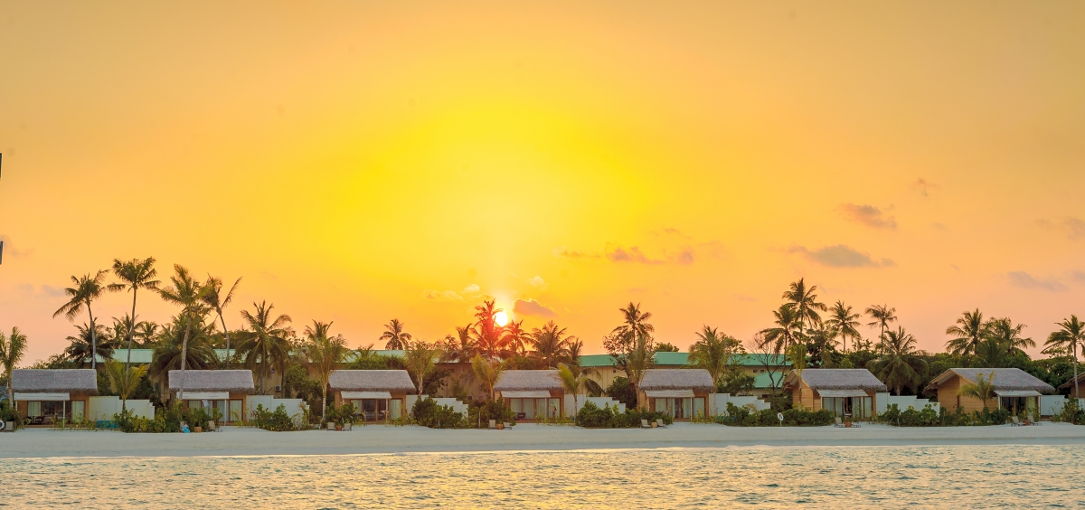 You&Me Sunset in Maldives